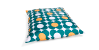 Sitzsack Nightflower Gr�n-Gelb