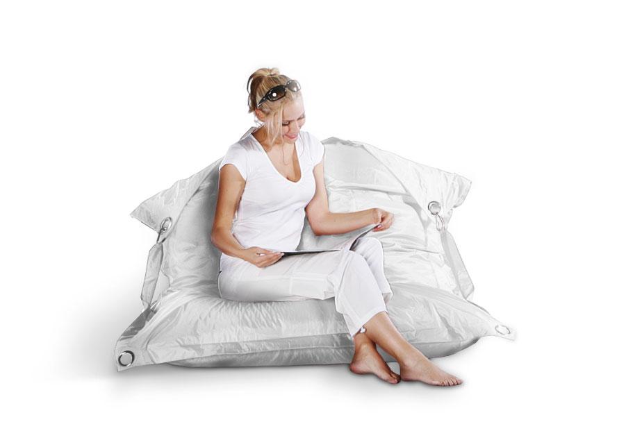 sitzsack wei wasserfeste sitzs cke in wei g nstig kaufen. Black Bedroom Furniture Sets. Home Design Ideas