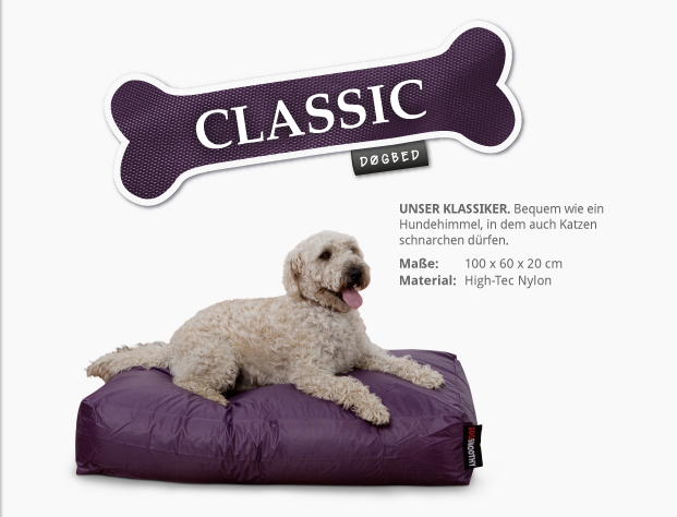 Hundebett Dogbed Classic