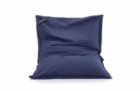 Indigo-Blau - Sitzsack Cotton