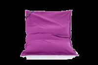 Lila Sitzsack aus Baumwolle