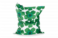 Grün-Grün - Sitzsack Floralia Outdoor