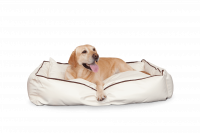 Beige L - Dogbed Leather
