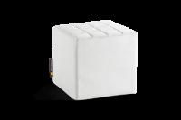 Cube Sitzwürfel in Polar-Weiß