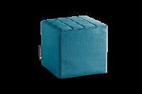 Petrol-Blau - Cube Sitzwürfel