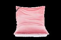 Flamingo-Pink - Sitzsack Samt