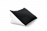 Lesekissen Bookworm - Black & White