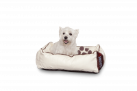 Dogbed Leather - Beige S