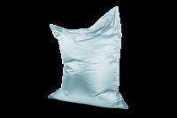 Aquamarin - Sitzsack Metallic
