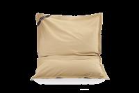 Sitzsack Braun aus Baumwolle