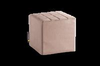 Gold-Beige - Cube Sitzwürfel
