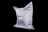 Platin - Sitzsack Metallic