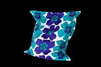 Sitzsack Floralia Outdoor - Türkis-Blau