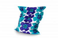 Outdoor Sitzsack Floralia Türkis-Blau