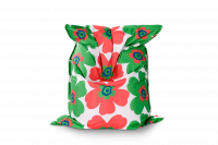 Floralia Outdoor Sitzsack Grün-Rot