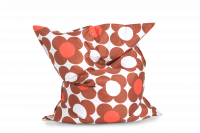 Sitzsack Nightflower Braun-Orange