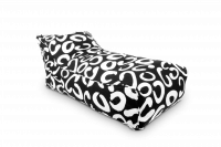 Lounge Daybed - Black & White