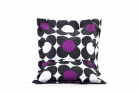 Schwarz-Violett - Sitzsack Nightflower jr