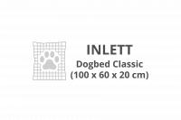 Inlett Dogbed Classic - Weiß