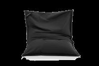 Mitternachts-Schwarz - Sitzsack aus Baumwolle