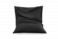Sitzsack Schwarz aus Baumwolle