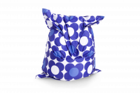 Sitzsack Nightflower - Blau-Blau
