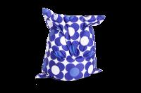 Sitzsack Nightflower Blau-Blau