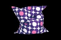 Sitzsack Nightflower Purpur-Rosa