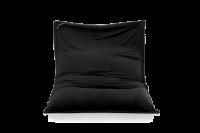 Mitternachts-Schwarz - Sitzsack Samt