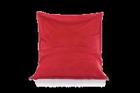 Feuerrot - Sitzsack Samt