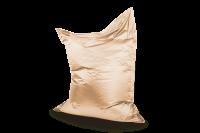 Weißgold - Sitzsack Metallic