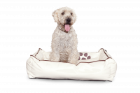 Beige M - Dogbed Leather