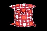 Nightflower Sitzsack Rot-Orange