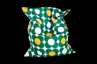 Sitzsack Nightflower - Grün-Gelb