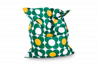 Grün-Gelb - Sitzsack Nightflower