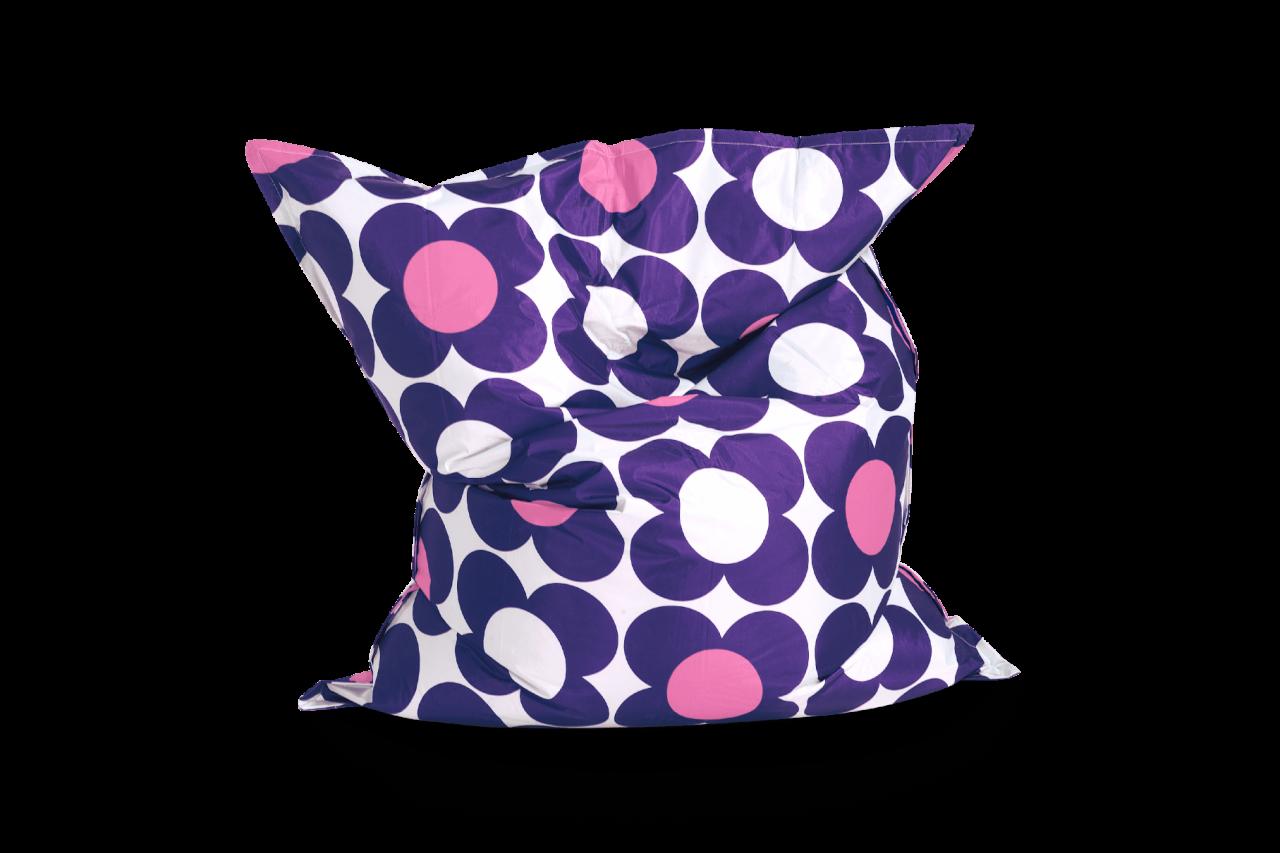 Sitzsack Nightflower Violett-Purpur