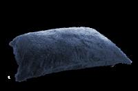 Schwarz-Blau - Bezug Flokati