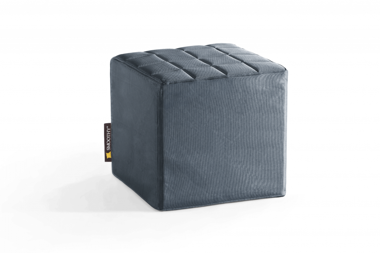Cube Sitzwürfel in Schiefer-Grau
