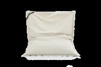 Beige-Creme - Sitzsack Cotton