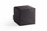 Mitternachts-Schwarz - Cube Sitzwürfel
